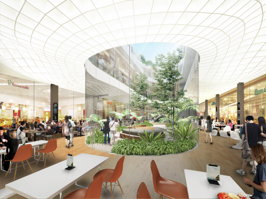 Interior Perspective of Northpoint City retail c03-d-02
